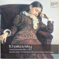 Tchaikovsky: Piano Concertos nos. 1 & 2. Derek Han, St. Petersborg SO. Freeman. 1 CD. Brilliant Classics