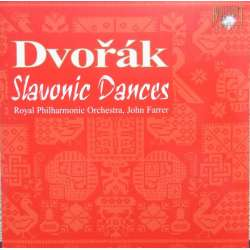 Dvorak: Slaviske danse for orkester. Royal PO. Farrer. 1 CD. Brilliant Classics