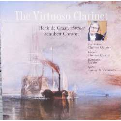 The Virtuoso Clarinet. Spohr, Crusell, Bernard, von Weber. Henk de Graaf. 1 CD. Brilliant Classics