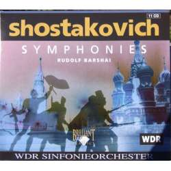 Shostakovich: Symfoni nr. 1-15. Rudolf Barshai, WDR. 11 CD. Brilliant Classics (box set)
