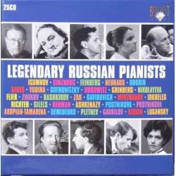 Legendary Russian pianists. 25 CD. Brilliant Classics