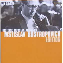 Mstislav Rostropovich Edition. 10 CD. Historic Russian Archives.