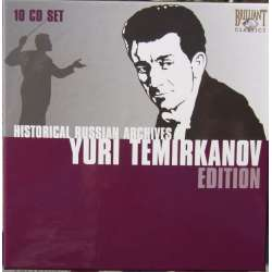 Yuri Temirkanov Edition. 10 CD. Historic Russian Archives.