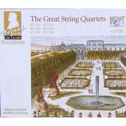 Mozart: Late String Quartets. Nos. 14, 15, 16, 17, 18, 19. Franz Schubert Quartet. 3 CD. Brilliant Classics
