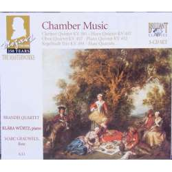 Mozart: Famous Chamber music. Brandis String Quartet. 3 cd Brilliant Classics 92874