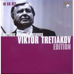 Viktor Tretiakov Edition. 10 CD. Historic Russian Archives. 93005
