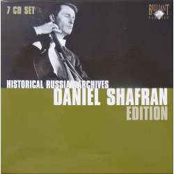 Daniel Shafran Edition. 7 CD. Historic Russian Archives.
