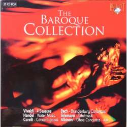 The Baroque Collection. Bach, Handel, Purcell, Telemann, Vivaldi. 25 CD. Brilliant Classics 93179. New Copy