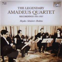 The Legendary Amadeus Quartet. Brahms, Schubert, Mendelssohn & Haydn. 7 CD. Brilliant Classics