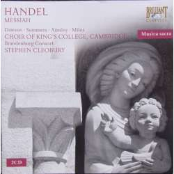 Händel: Messiah. Stephen Cleobury. 2 CD. Brilliant Classics
