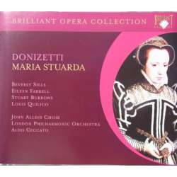 Donizetti: Maria Stuarda. Ceccato. Sills, Burrows. 2 CD. Brilliant Classics
