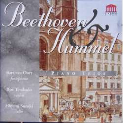 Beethoven & Hummel: Trio for piano and strings. Hidemi Suzuki, Ryo Terakado, Bart van Oort. 1 CD.