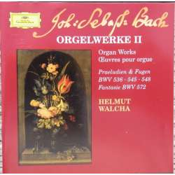 Bach: Organ works. BWV: 536, 540, 542, 545, 548, 572. Helmuth Walcha. 1 CD. DG