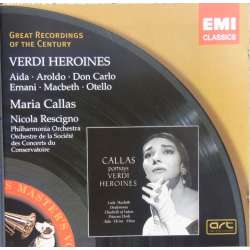 Maria Callas: Verdi: Heroines. 1 CD. EMI. Great Recordings of the Century.