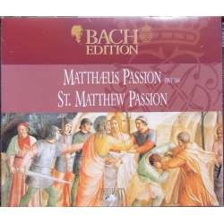 Bach: Matthæuspassion. Kirkby. Stephen Cleobury. 3 CD. Brilliant Classics