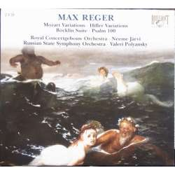 Reger: Variationer. Russiske SO. Valeri Polyansky. 2 CD. Brilliant Classics
