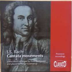 Bach: Cantata movements transcribed for organ. Helge Gramstrup. 1 CD. Classico