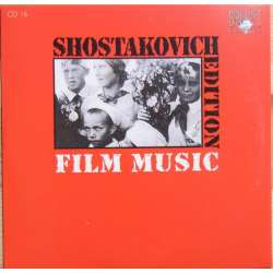 Shostakovich: Film music. Hamlet, the Gadfly. Theodore Kuchar. 1 CD. Brilliant Classics