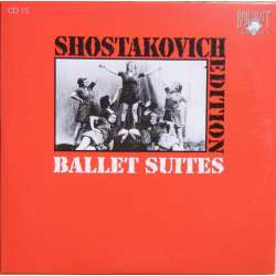 Shostakovich: Ballet suites. The Bolt & The Golden age. Ukraine SO. Kuchar. 1 CD. Brilliant Classics
