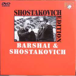 Bernd Feuchtner interview Rudolf Barshai about Shostakovich. 1 DVD.