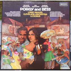 Gershwin: Porgy and Bess. White, Hendricks. Lorin Maazel. 3 LP. Decca. SET 609