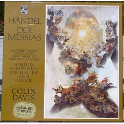 Handel: Messiah. Colin Davis. Harper, Watts. 3 LP. Philips