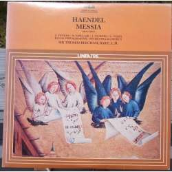 Handel: Messiah. Thomas Beecham. Vickers, Vyvyan 3 LP. RCA
