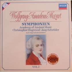 Mozart: Late Symphonies. Christopher Hogwood, Academy of Ancient Music. 4 LP. Decca.