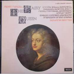 Purcell: The Fairy Queen. Vyvyan, Bowman. ECO. Britten. 2 LP. Decca. SET 499