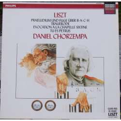 Liszt: Organ Works. Daniel Chorzempa. 1 LP. Philips. New Copy