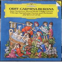 Carl Orff: Carmina Burana. James Levine, June Anderson, Bernd Weikl, Chicago SO. 1 LP DG