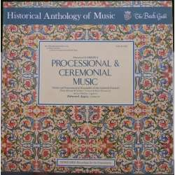 Gabrieli: Processional and Ceremonial music. Appia. 1 LP. Vanguard.