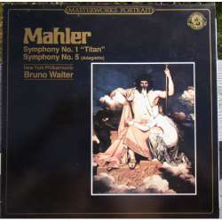 Mahler: Symphony no. 1. 'Der Titan'. Bruno Walter. Columbia SO. 1 LP. CBS