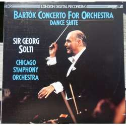 Bartok: Koncert for orkester. Chicago SO. Solti. 1 LP. Decca. Nyt eksemplar