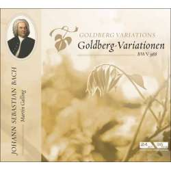 Bach: Goldberg variations. Martin Galling. 1 CD. Membran