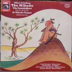 Gilbert & Sullivan: The Mikado & The Gondoliers. Sir Malcolm Sargent. 3 LP. EMI