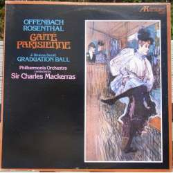 Offenbach: Gaite Parisienne. & J. Strauss: Graduation ball. Mackerras. 1 LP. Arabesque