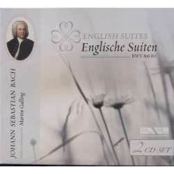 Bach: English suites. BWV 806 - 811. Martin Galling. 2 CD. Membran