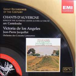 Canteloube: Songs of the Auvergne. V. de los Angeles. Orch de Lamoureux. Jacquillat. 1 CD. EMI