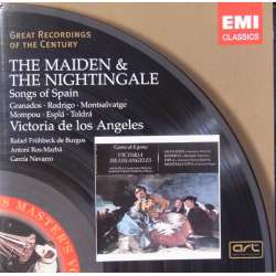 The Maiden and The Nighttingale. Songs of Spain. Victoria de los Angeles. 1 CD. EMI