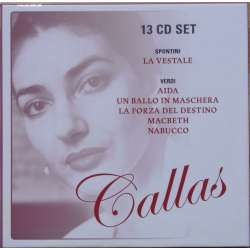 Maria Callas sings Spontini and Verdi. 13 CD. Membran