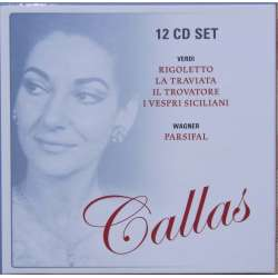 Maria Callas sings Verdi and Wagner. 12 CD. Membran