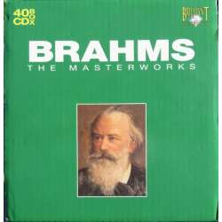 Brahms: The Masterworks. 40 CD. Brilliant Classics. Nyt eksemplar