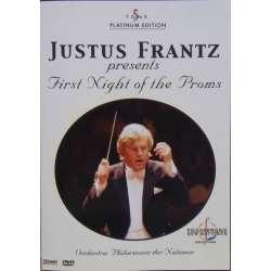 First Night at the Proms. Justus Frantz. 1 DVD. Cascade