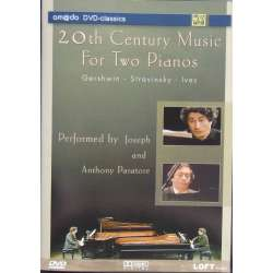 20th Century Music for two pianos. Gershwin, Stravinsky, Ives. 1 DVD. Amado