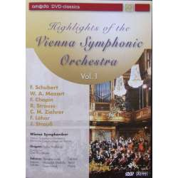 Highlights of the Vienna Symphony Orchestra. Heinz Wallberg. 1 DVD. Cascade