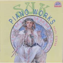 Josef Suk: Complete Piano Works. Pavel Stepan. 1 CD. Supraphon 1122332.