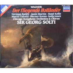 Wagner: Den flyvende hollander. Georg Solti. Talvala, Bailey, Kollo. 2 CD. Decca