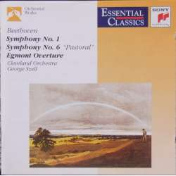 Beethoven: Symfoni nr. 1 & 6. + Egmont. Cleveland SO. George Szell. 1 CD. Sony
