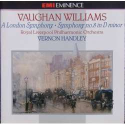 Vaughan Williams: Symfoni nr. 2 'London' + nr. 8. LPO. Vernon Handley. 1 CD. EMI